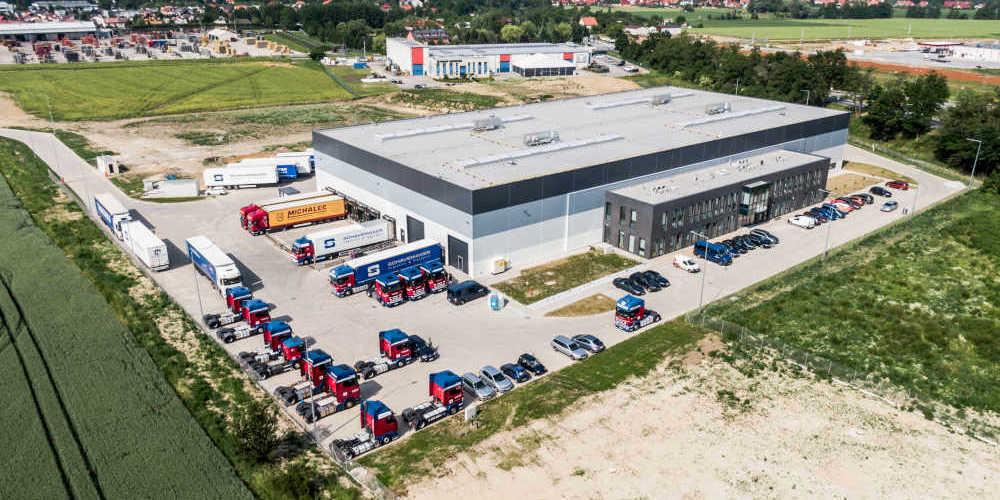 Kamiński Budownictwo- Wykonawca Hala logistyczna Schavemeker w Kąty Wrocławskie