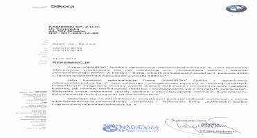 Generalne wykonawstwo - rozbudowa salonu - Referencje BMW Sikora