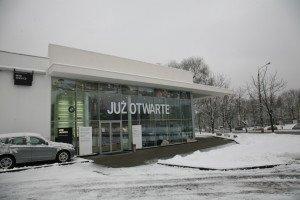 Generalne wykonawstwo - rozbudowa salonu samochodowego BMW Sikora