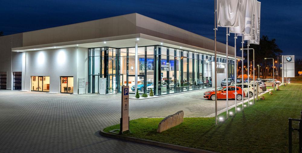 Kamiński Budownictwo- Kompleksowa realizacja salonu BMW w Opolu
