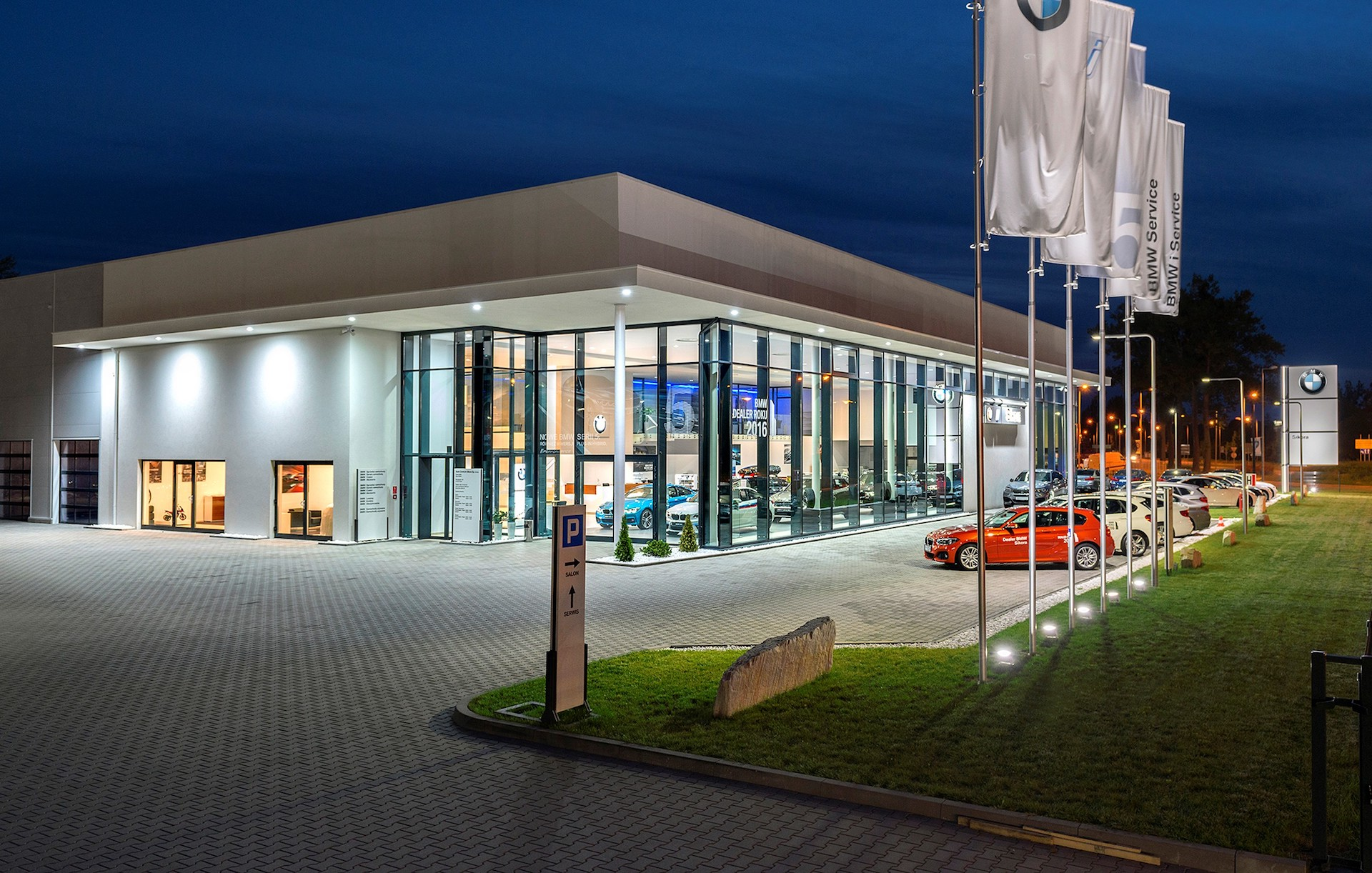 Kamiński - Budownictwo. Generalne wykonawstwo, kompleksowa realizacja obiektów budowlanych, salon samochodowy.