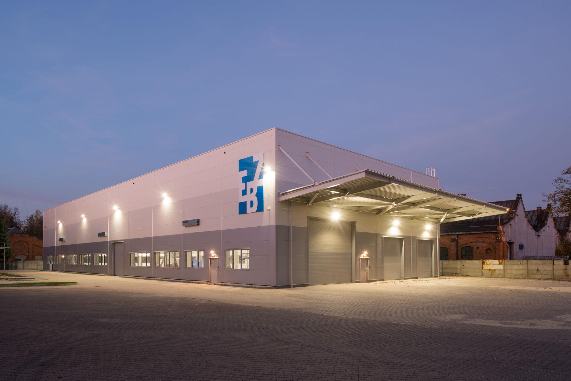 Kamiński - Budownictwo. Generalny wykonawca hal przemysłowych, Generalny wykonawca hali, Hala EBZ automation engineering Gliwice