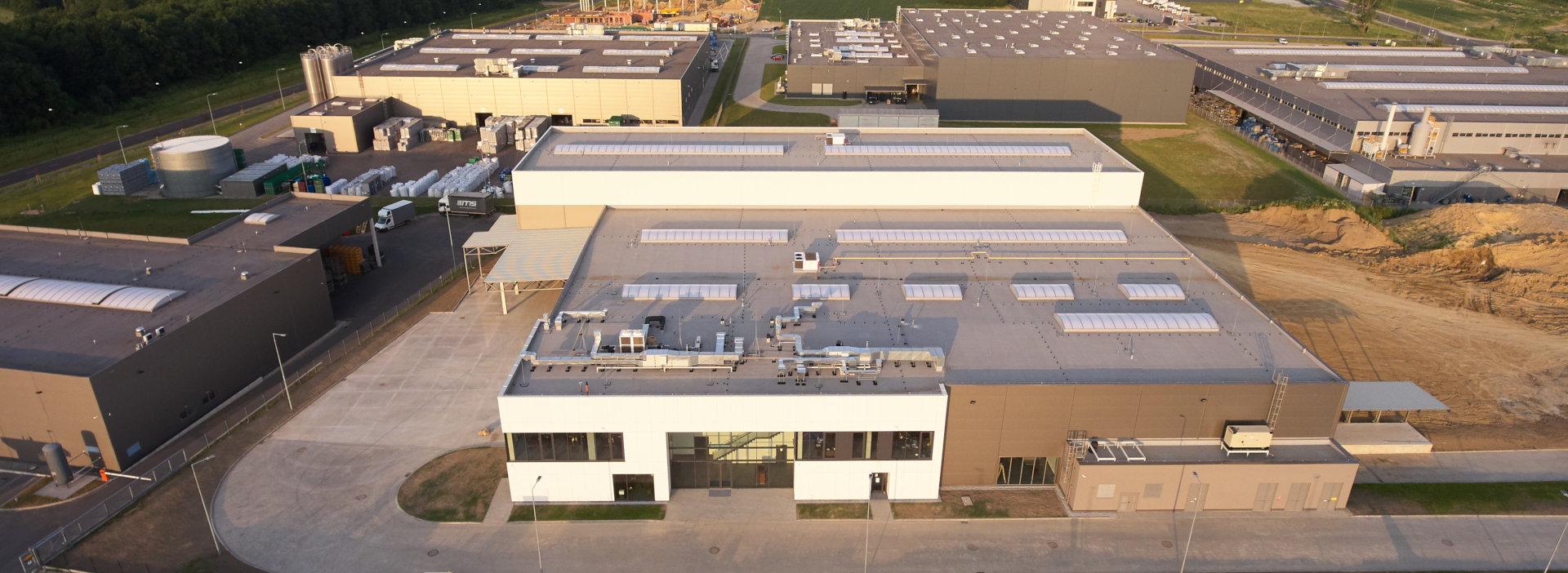 Kamiński - Budownictwo. Budowa hali produkcyjnej, Budowa hali produkcyjno magazynowej, Hala produkcyjno magazynowa