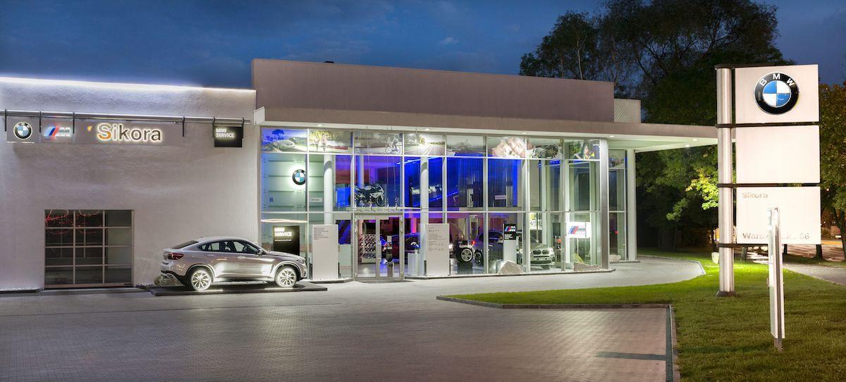Salon i serwis samochodowy dla dealera BMW