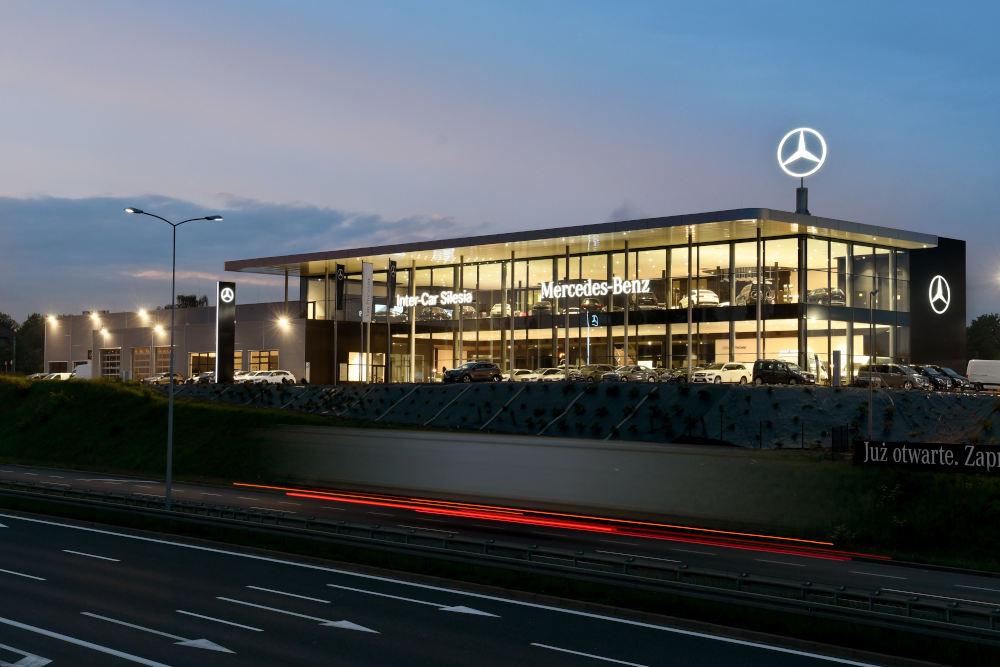 Salon samochodowy Inter-Car Silesia Mercedes-Benz