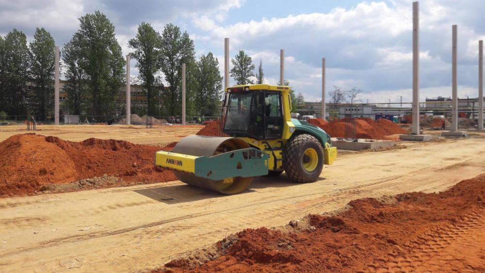 Relacja z budowy hali logistycznej dla Operator ARP w Częstochowie