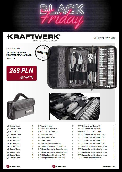 Kraftwerk Black Friday 2020