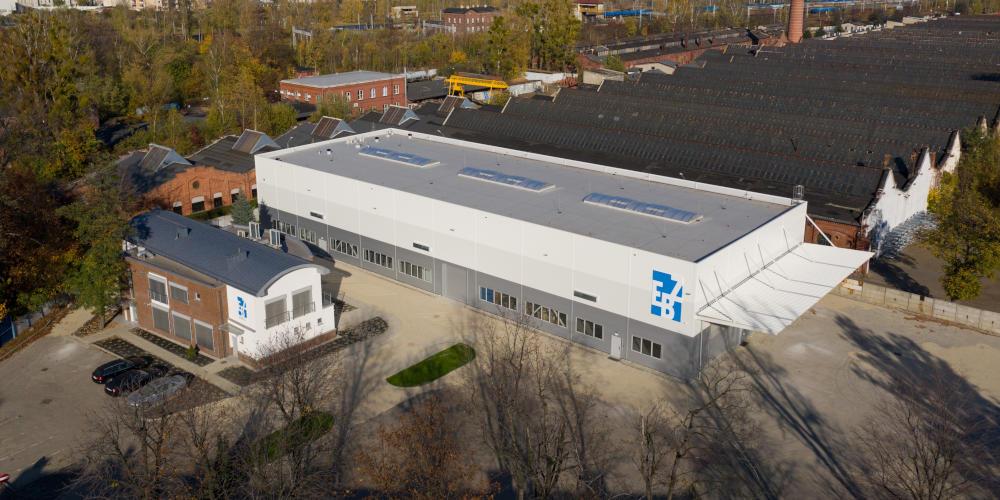 Kamiński Budownictwo - Przebudowa budynku biurowego EBZ Automation Engineering w Gliwicach