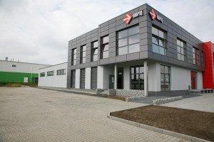 Kamiński Budownictwo - Hala magazynowa z budynkiem socjalno-biurowym Moraj Żory