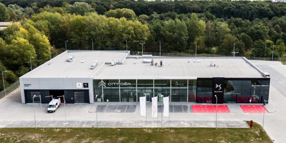 Kamiński Budownictwo - Wykonawca Salonu Mercedes Ruda Śląska